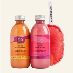 Body Shop - Bubbling Mango & Berry Bath Blends Duo